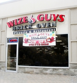 Wize Guys Brick Oven Pizzeria Restaurant 353s Avenue Clifton New Jersey 07011